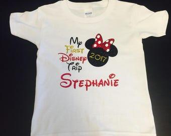 My first Disney trip, Disney shirt