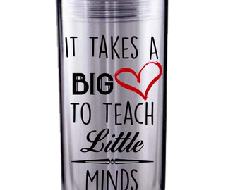 Teacher Appreciationl Skinny Acrylic Tumbler
