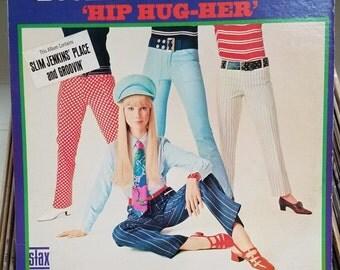 """Booker T & the MGs Hip Hug Her 1967 Original STAX 717 Soul Mod 1960's LP Donald """"Duck"""" Dunn Steve Cropper"""