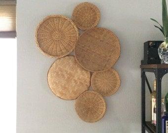 Vintage Basket Wall Art