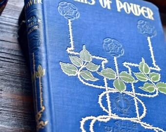 "Vintage Poetry book ""Poems of Power"" by Ella Wheeler Wilcox 1901"