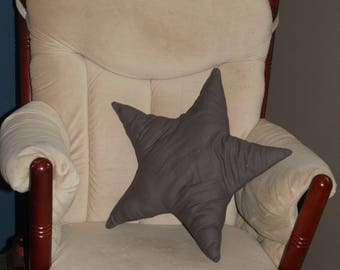Star Pillow-Decorative Pillow-Kids Pillow- Nursery Pillow