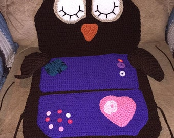 Owl car organizer