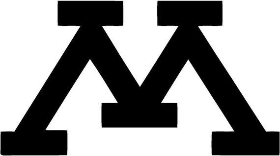Vinyl Decal Sticker - Minnesota University Decal for Windows, Cars, Laptops, Macbook, Yeti, Coolers, Mugs etc