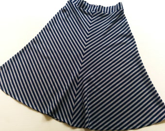 158 SkiRt 34/36 S RoCk 70's A-line VinTage old-school ReTro hipSter