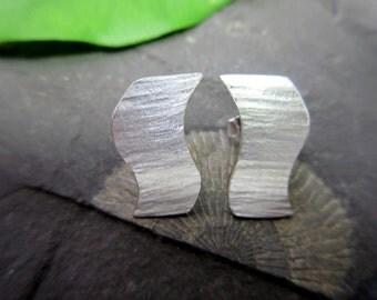 Spirited earrings Silver earrings silver