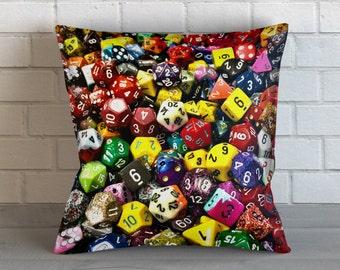 Game Dice Pillow