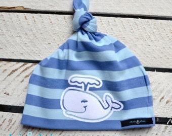"Baby node caps/baby hat ""Sperm whale"""