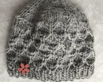 Wool Honeycomb Hat - infant
