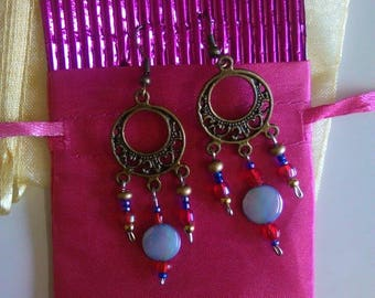 Egyptian, Goddess, Moon,earrings, jewellery