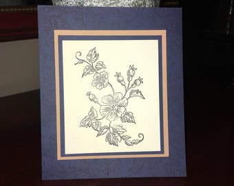 Flat Greeting Card