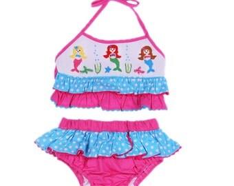 Smocked Mermaid Swimsuit