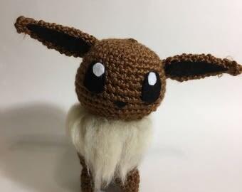 Eevee Crochet Amigurumi Plushie Eevolution Series