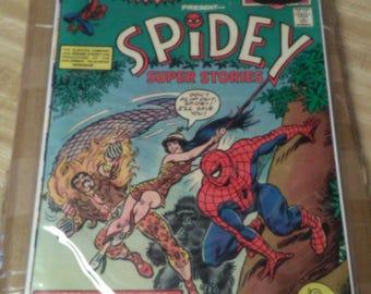 1974 Marvel Comics. Spidey Super Stories Vol-1..MINT 10. Rare. 50% OFF