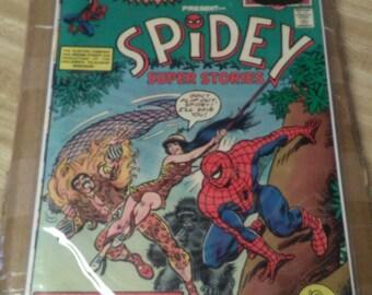 1974 Marvel Comics. Spidey Super Stories #1..MINT 10. Rare. 60% OFF