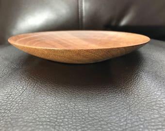 Mahogany Plate