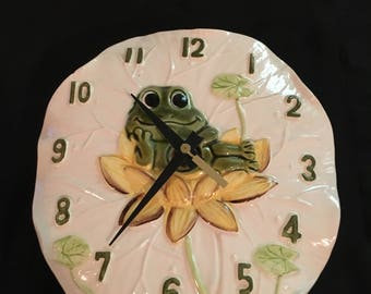 Neil the Frog 70s Sears Clock - Decor Only