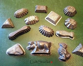 Vintage Backförmchen form of Praline chocolate molt