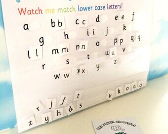 Learn lower case letters, EYFS, Reception, Early learning, Teaching resource, nursery, pre-school, alphabet