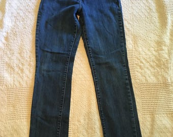 Vintage womens levis mid rise skinny jeans size 4 m