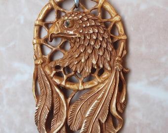 Eagle Dream Catcher Pendant (free Shipping)