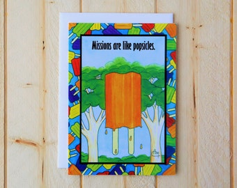 Missionary Card - Mission Popsicle