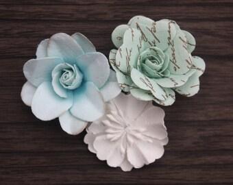 ADD ON Trio of Flowers Embellishment