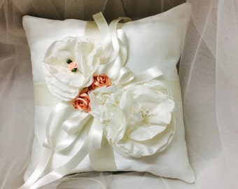 Wedding ring bearer pillow