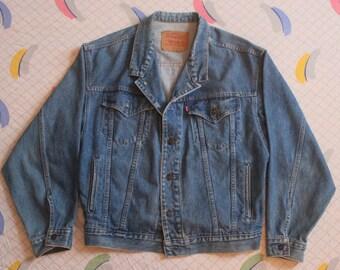 Vintage Levi's Denim Jacket 1980's