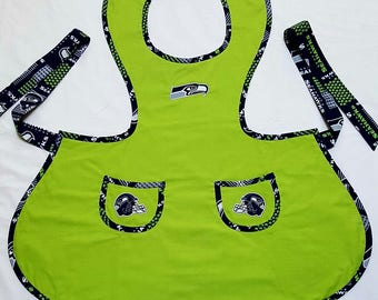 Seahawks Women's Lime Green Apron