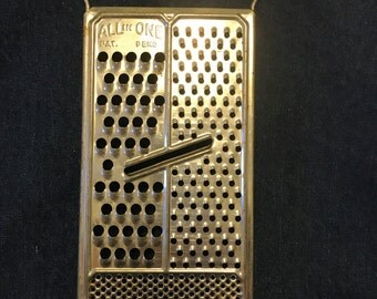 1950s All-In-One Cheese Grater/Slicer, Retro Country Kitchen Decor