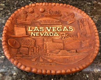 Vintage Las Vegas Souvenir Bowl by Angelus