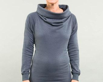 Kolla 4 in 1. long-sleeved. Ash/black