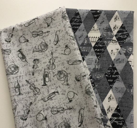 Black And White Fat Quarters 101