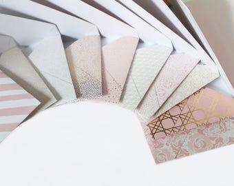 Custom Envelopes -  10 Pack