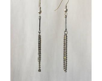 Metal Dangle Earrings