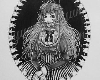 Creepy Girls - A5 prints
