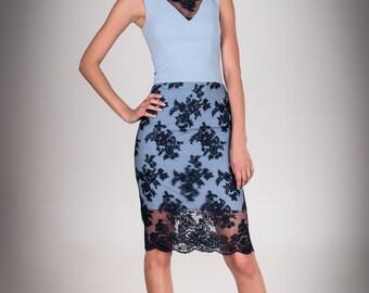 """Evening dress """"Fluorite"""""""