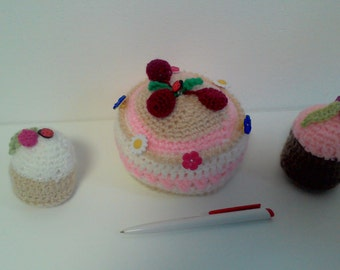 Knitted toys cakes / вязанные игрушки Тортики