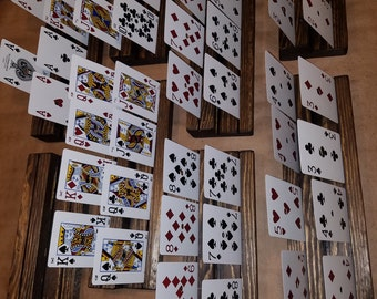 Poker card holders