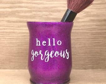 Makeup Brush Holder - Brush Holder - Makeup Brush - Makeup Glitter - Makeup Holder