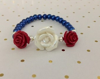 The Patriotic Rose