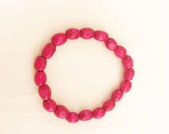 Hot Pink Fashion Bracelet For Girls