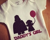 Baby Girl Outfit,  Daddy's Girl Onesie,  Glitter Shirt, Baby Girl Clothes, Newborn Onesie, Baby Girl Shirt, Baby Shower Gift
