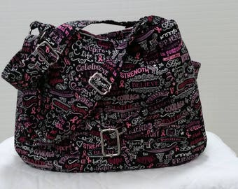 Breast Cancer Courage Handbag