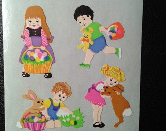Sandylion Stickers Children Playing, Easter bunny  (1 mod)
