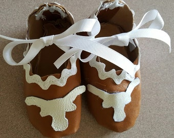 Longhorn girl shoes/booties
