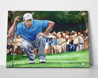 Tiger Woods Limited Edition 24x36 Poster | Tiger Woods Canvas