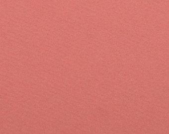 Felt - craft felt pink grapefruit 1 mm 40 x 45 cm