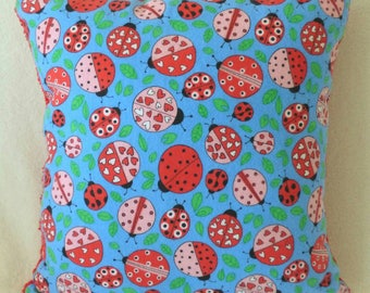 Lady Bugs and Hearts! Pillow